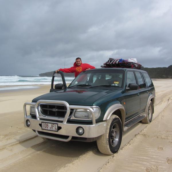 Seals Rock beach