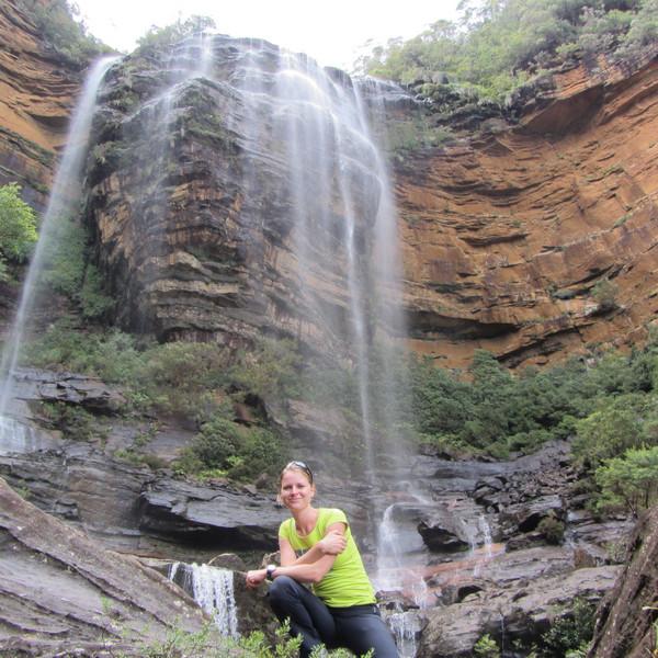 Klara vodopad